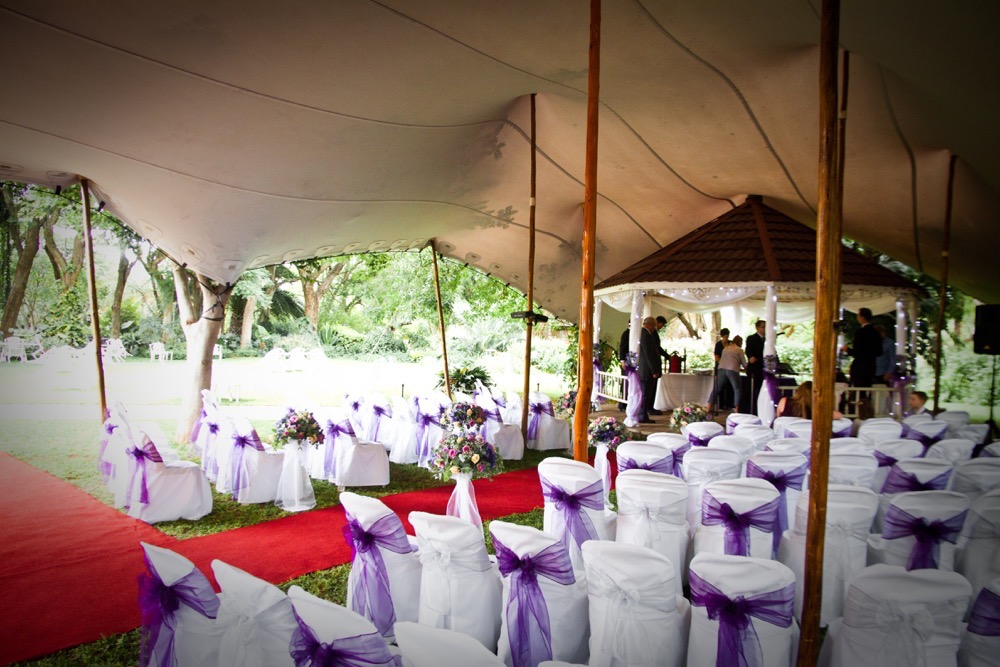 Wedding highlight doug and kate skea everything about their wedding was so beautiful and exquisite their decor was elegantly done in purple by decor with a difference junglespirit Gallery