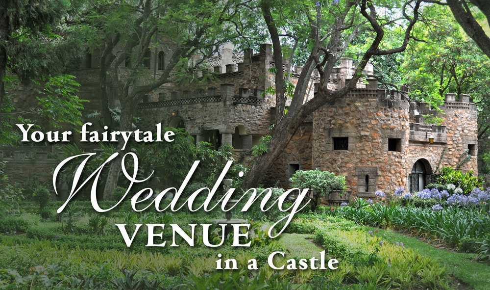 Host your wedding at The Nesbitt Castle